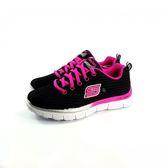 女款 SKECHERS 81818LBKHP 輕量透氣 休閒鞋《7+1童鞋》B909 黑色