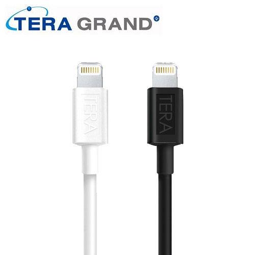 Tera Grand Apple Lightning 8pin 原廠認證充電傳輸線 iPhone 6/6plus/5
