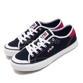 Fila 休閒鞋 C317T 基本款 藍 白 帆布鞋 男鞋 女鞋 運動鞋【PUMP306】 4C317T321