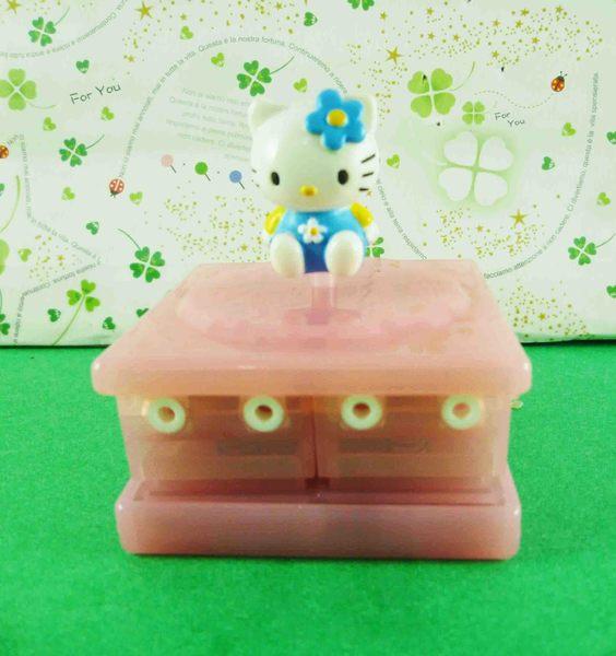 【震撼精品百貨】Hello Kitty 凱蒂貓~KITTY多層印章-藍(時鐘)