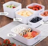 日式冰箱保鮮盒可微波爐加熱飯盒便當盒食物收納盒密封冷藏盒 KV4277 『小美日記』