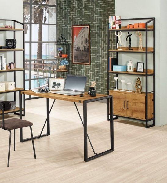8號店鋪 森寶藝品傢俱 c-01 品味生活 書房 書櫃系列 873-2 漢諾瓦4尺書櫃(7710+a07)