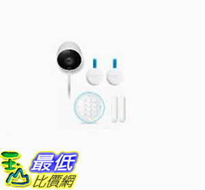 [8美國直購] Nest Secure and Nest Cam Outdoor Bundle