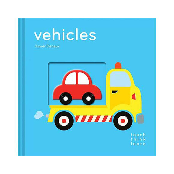 Touch Think Learn:Vehicles 交通工具 厚紙硬頁認知書
