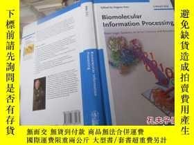 二手書博民逛書店biomolecular罕見information proces