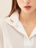 一字胸針女時尚插針式胸花韓國配飾個性飾品大氣復古簡約百搭徽章 新北購物城