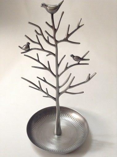 【酷樂寶colorbox】金屬小鳥首飾架-古銅色