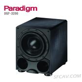 【竹北勝豐群音響】Paradigm DSP-3200 12吋主動式重低音喇叭