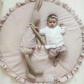 爬行墊 屁屁媽爆款北歐兒童房裝飾寶寶游戲毯花邊爬行墊 游戲墊空調被 igo 下殺