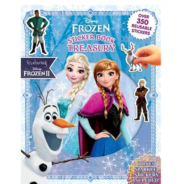 [COSCO代購] W130896 經典卡通貼紙書 3入 - Disney Princess+Paw Patrol+Frozen