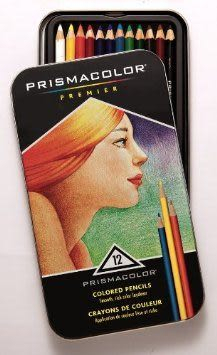 PRISMACOLOR Premier系列頂級油性色鉛筆*12c