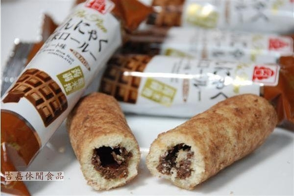 【吉嘉食品】北田蒟蒻糙米捲(海苔/蛋黃) 500公克[#500]