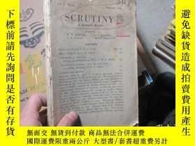 二手書博民逛書店SCRUTINY罕見殘 2482Y19636 KNIGHTS K