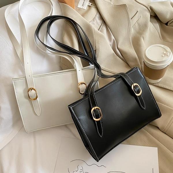 特賣 韓版小眾設計簡約腋下單肩包女夏季新款休閑百搭大容量小方包