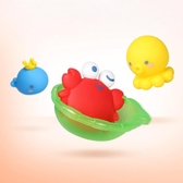 YAHOO618◮澳貝海洋噴噴樂嬰幼兒兒童寶寶玩具洗澡兒童戲水玩具嬰兒洗澡洗浴 韓趣優品☌
