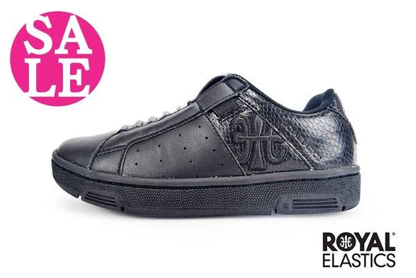 Royal Elastics童休閒鞋 Icon Andox & Box 聯名款 免綁帶 運動鞋G9231#黑色◆OSOME奧森童鞋 零碼出清