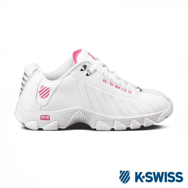 K-swiss ST 329 CMF休閒運動老爹鞋-女-白/