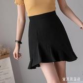 半身裙女2020新款女裝夏季時尚不規則高腰魚尾裙短褲裙褲子 TR596『寶貝兒童裝』
