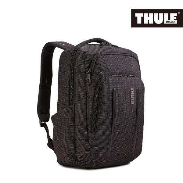 【Thule 都樂】Crossover 2 20L電腦後背包(C2BP-114-黑)