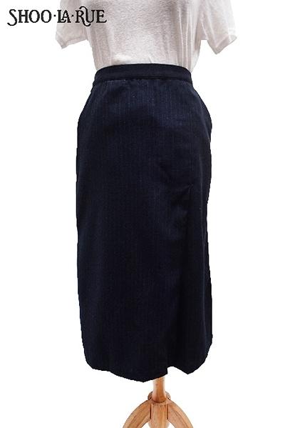 SHOO.LA.RUE高腰彈性七分長裙