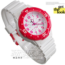 CASIO卡西歐 LRW-200H-4B 指針錶白面紅 數字時刻 38mm 女錶 / 兒童手錶 考試用錶 LRW-200H-4BVDF