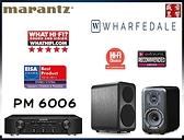 春季獨家『限量三組』『Wharfedale D320 書架喇叭 / MARANTZ PM6006 綜合擴大機