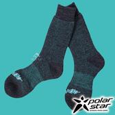 【PolarStar】羊毛保暖雪襪『黑藍』P17610 露營.戶外.登山.保暖襪.彈性襪.紳士襪.休閒襪