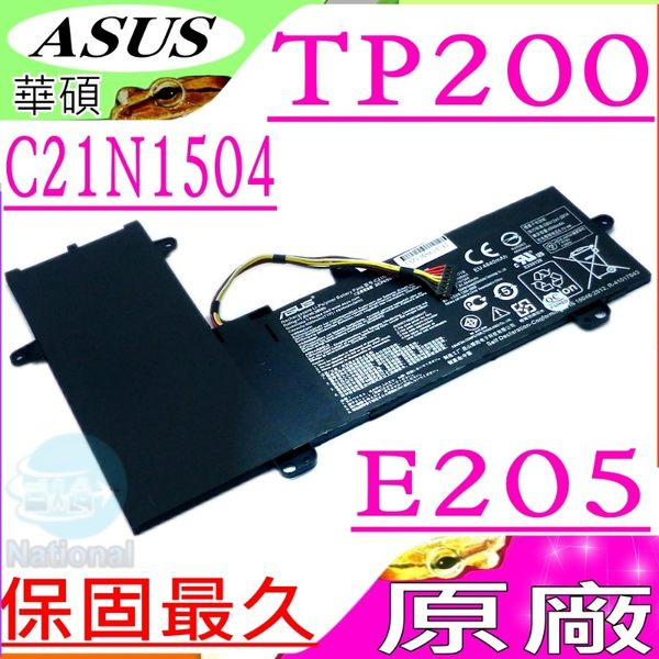 ASUS 電池(原廠)-華碩 C21N1504,TP200電池,TP200SA電池,TP200S電池,E205S電池,E205SA電池,2ICP4/59/134