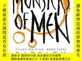 二手書博民逛書店Monsters罕見Of Men-人妖Y436638 Patrick Ness Candlewick, 201