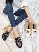 聖誕禮物豆豆鞋外穿女秋冬季新款韓版平底加絨保暖棉瓢鞋毛毛單鞋女潮 品生活旗艦店