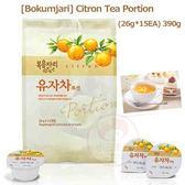 韓國 Bokumjari 膠囊狀柚子茶(26g*15個)【小三美日】