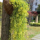 仿真金忠柳吊蘭花藤假花塑料吊籃花壁掛家居客廳裝飾綠植植物藤類禮物限時八九折