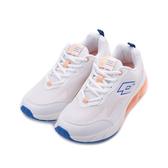 LOTTO FLOAT 氣墊跑鞋 米白 LT2199 女鞋 鞋全家福