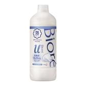 Biore 高彈潤沐浴慕絲補充瓶清新皂香(450ML) 【康是美】