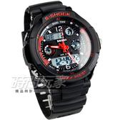 SKMEI 時刻美 S-SHOCK 潮男時尚腕錶 男錶 SK0931紅黑 雙顯示 防水手錶 電子錶 運動錶 夜光 三眼 日期