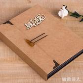 相冊  情侶浪漫 冊相冊本粘貼式記錄愛情的情侶本flb45 【極致男人】