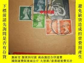 二手書博民逛書店原版罕見國外郵票 外國郵票 6枚合售 加蓋郵戳2000年(詳看實