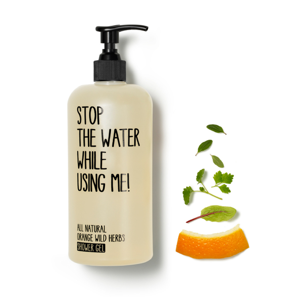 Stop the water while using me! 柑橘野生香草沐浴露200ml