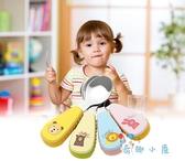 可愛兒童餐具嬰幼叉子勺子套裝學吃飯訓練【奇趣小屋】