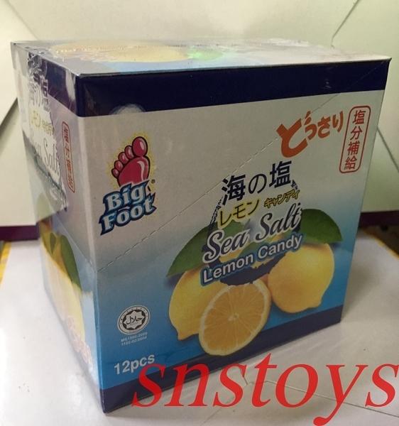 sns 古早味 進口食品 糖果 BF 海鹽檸檬糖 檸檬糖 鹽檸檬糖(180公克/12小包)