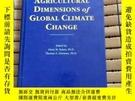 二手書博民逛書店Agricultural罕見Dimensions of Global Climate ChangeY17786