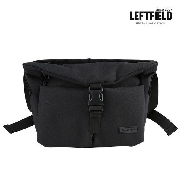 【韓國直送】斜背包 韓國 LEFTFIELD 多層袋口個性郵差包 側背包 肩背包 NO.1304