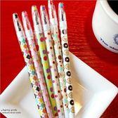 【筆紙膠帶】點點愛心格子卡哇伊中性筆 可愛 彩色水筆