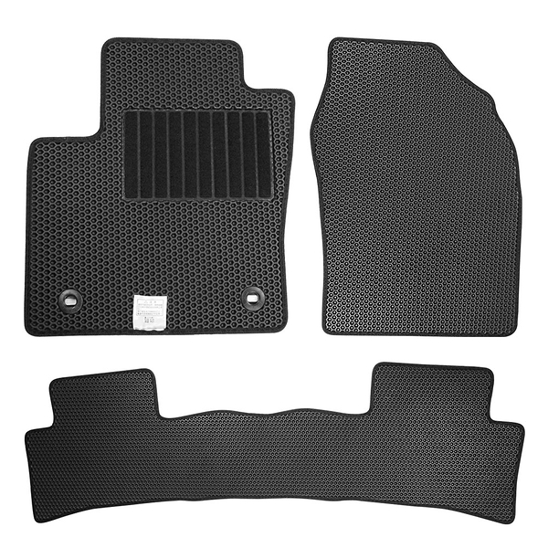 CARBUFF 汽車腳踏墊 Hyundai Venue (2020~) 適用 / 蜂巢式防水車墊