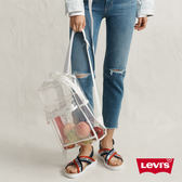 Levis 男女同款 L1後背包 / 都會電腦包 / 時尚透視設計