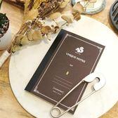 《松鼠》B6鋼筆方格筆記本/咖【綠的事務】