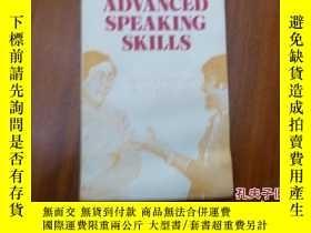 二手書博民逛書店《advanced罕見speaking Shills》Y1359