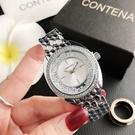 CONTENA 鑲邊晶鑽女士錶-6725Y