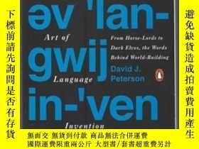 二手書博民逛書店The罕見Art Of Language Invention-語言創造的藝術Y436638 David J.