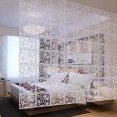 客廳臥室辦公酒店歐式玄關屏風隔斷時尚摺疊創意家居裝飾傢俱簾子  ATF英賽爾3C數碼店